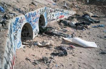 libia nascondiglio_gheddafi