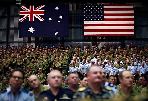 usa australia_truppe