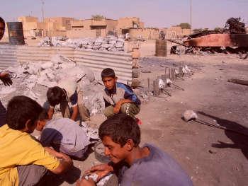 bambini iraq-w350