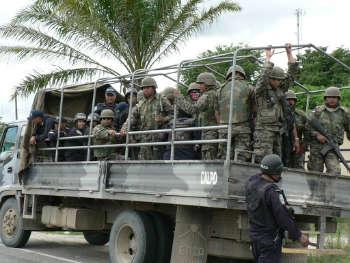 honduras militarizzazione-w350