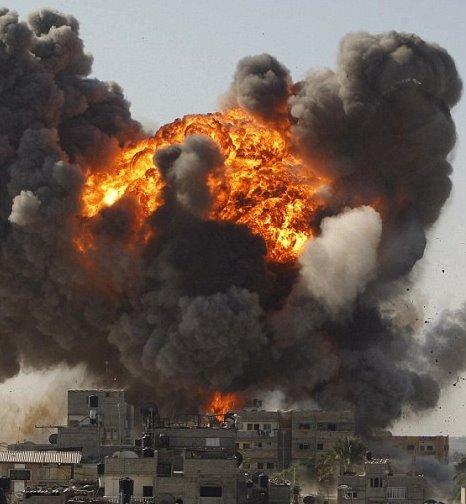 Gaza bombing 1