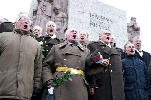 lettonia nazisti