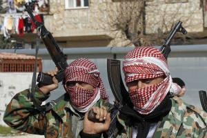 siria ribelli armati
