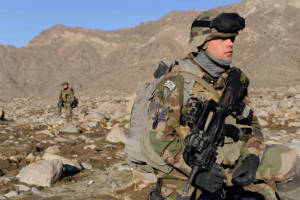 French Marines Afghanistan