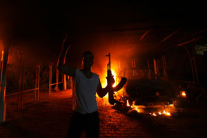 libia ambasciata violenza