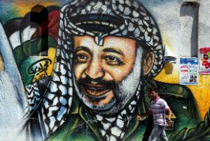 arafat murales