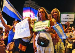 argentina proteste kirchner