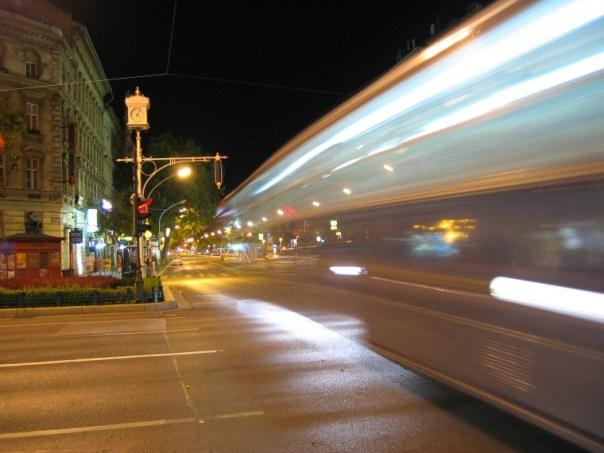 strada notte