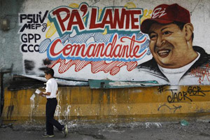 chavez murales venezuela