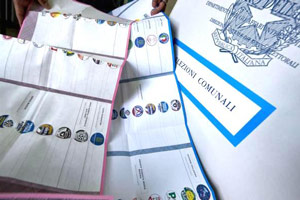 schede elettorali comunali