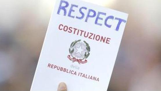 costituzione respect