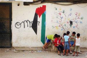 murales palestina bimbi