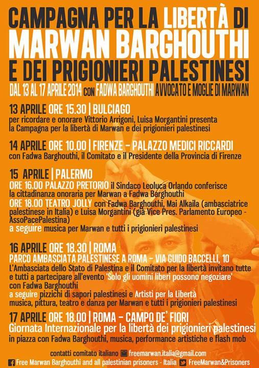 campagnabarghouthi 13-17aprile2014