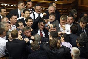 kiev parlamento rissa