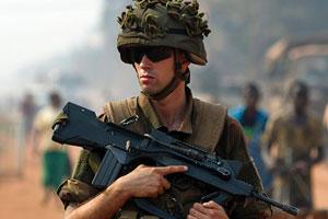 soldato usa m4