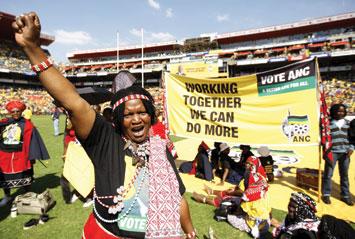 sudafrica donna pugno