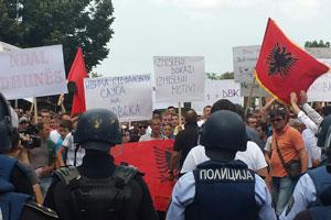 macedonia scontri
