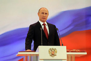 Putin bandiera