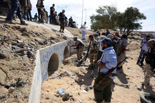 libia buco gheddafi