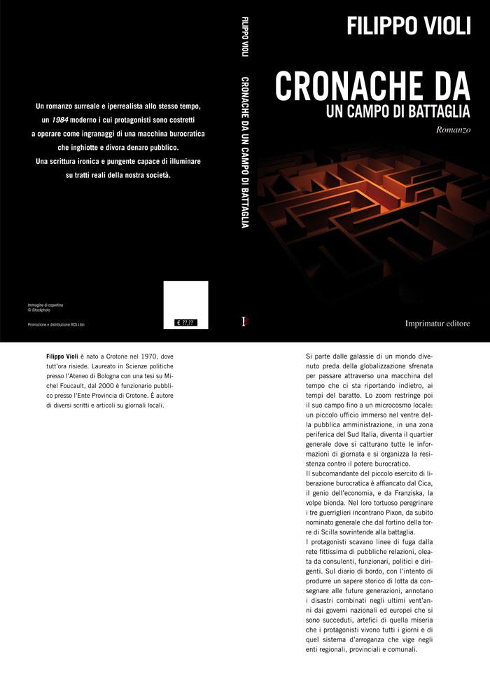 CRONACHE DA UN CAMPO DI BATTAGLIA cover