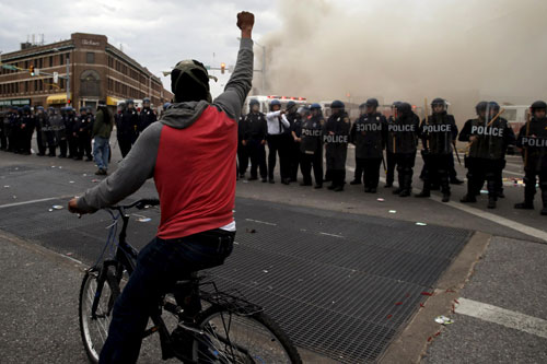 baltimore police riots
