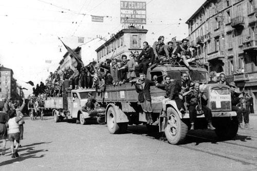 partigiani camion