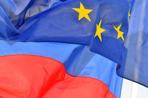 russia europa bandiere