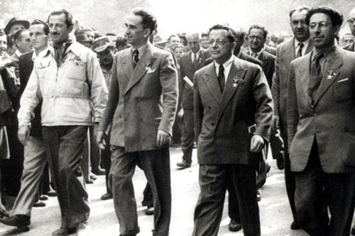 sfilata partigiana 1947