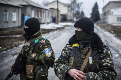 ukraine soldati