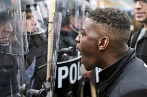 nero usa polizia