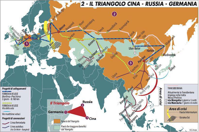 Il triangolo Cina Russia Germania 820 814