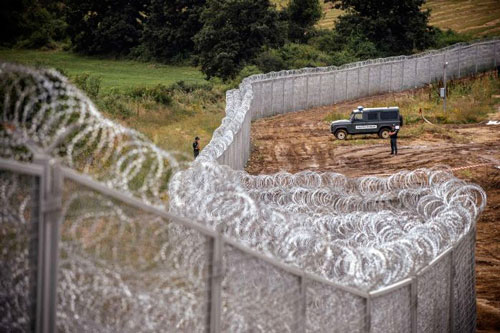ungheria muro