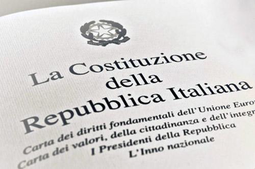 costituzione closeup