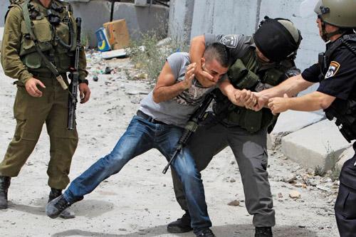 palestina israeliani ragazzo