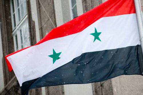 Syrian national flag