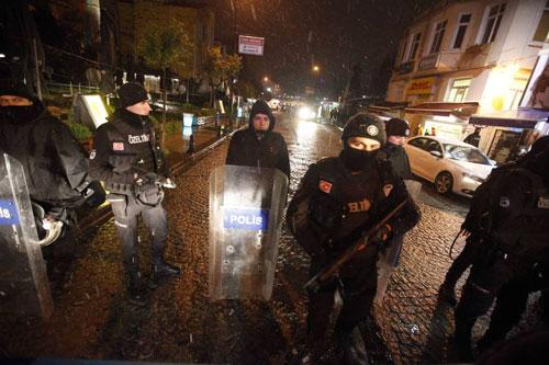 polizia turchia