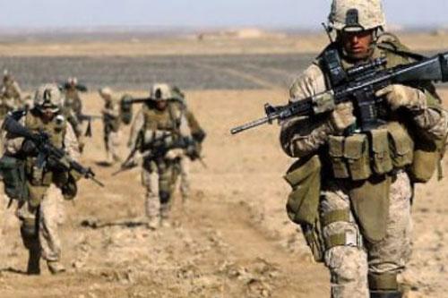 soldati deserto