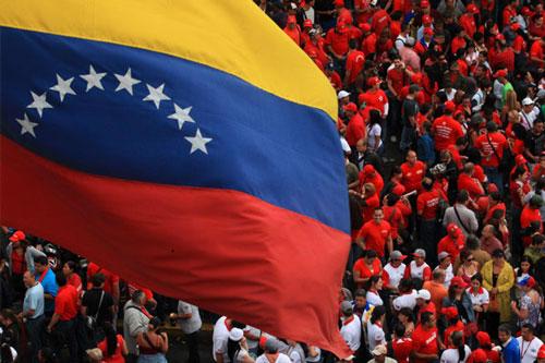 venezuela bandiera persone