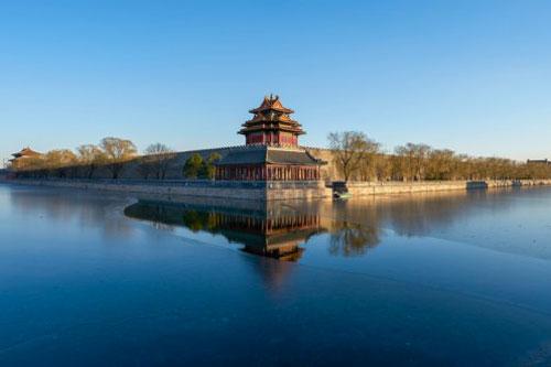 struttura lago cina