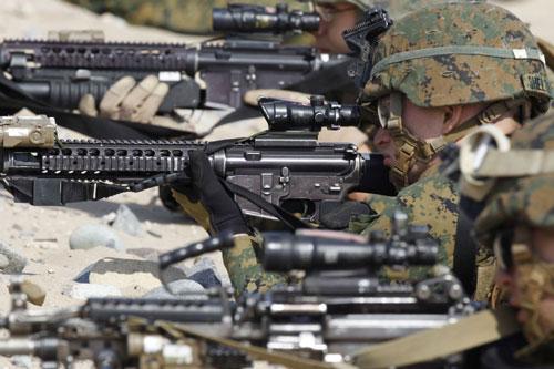 marines m4