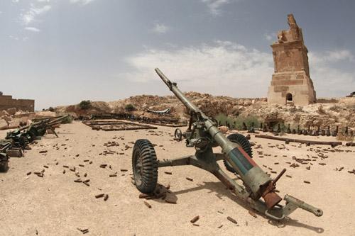 cannone libia medioriente