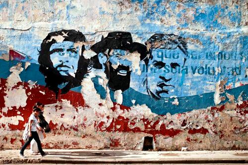 Cuba murales donne