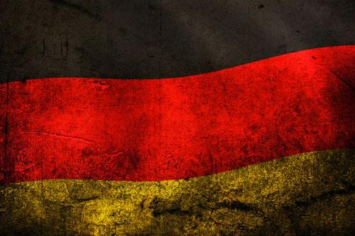 germania bandiera grunge