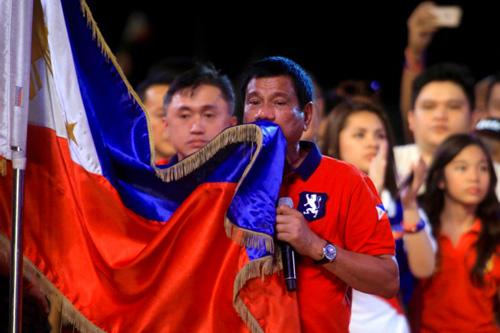 duterte bandiera filippine