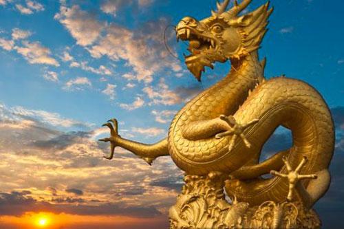 dragone statua