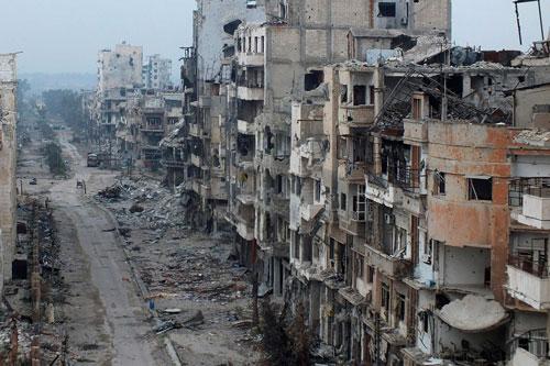 siria distruzione edifici