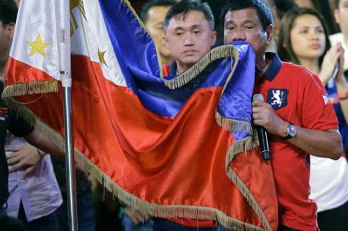 duterte filippine bandiera