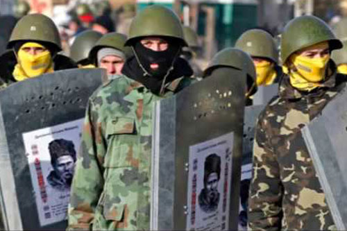 ucraina nazi scudi