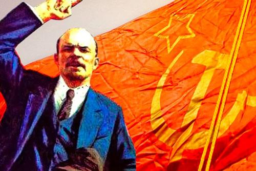 Lenin bandiera