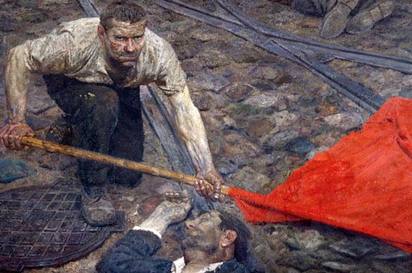 Korzhev Raising the Banner